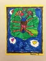 Big Beetles Marker Drawing 4