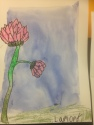 Big Flowers Oil Pastel Resist Grade 4