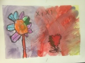 Big Flowers Oil Pastel Resist Grade PK