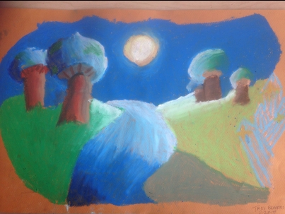 Moonlit Mushrooms 1
