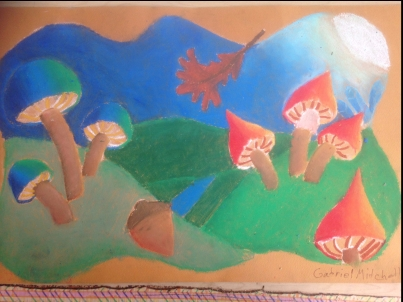 Moonlit Mushrooms 2