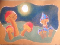 Moonlit Mushrooms 3