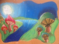 Moonlit Mushrooms 4