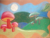 Moonlit Mushrooms 6